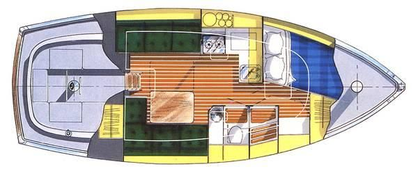 Floor Plan of Nonsuch 30 Ultra