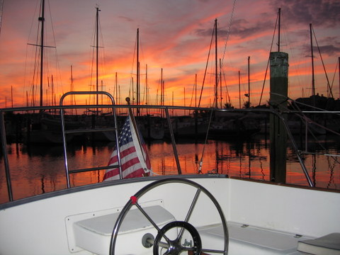 Living Aboard AWOL At Burnt Store Marina