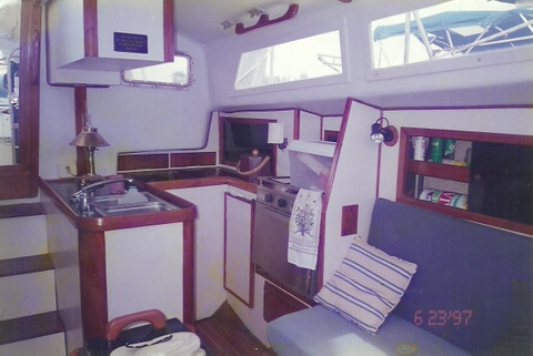 Galley on CSY33