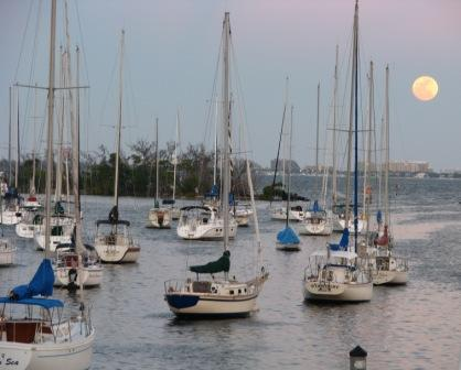 Where To Live Aboard:  Mooring Field