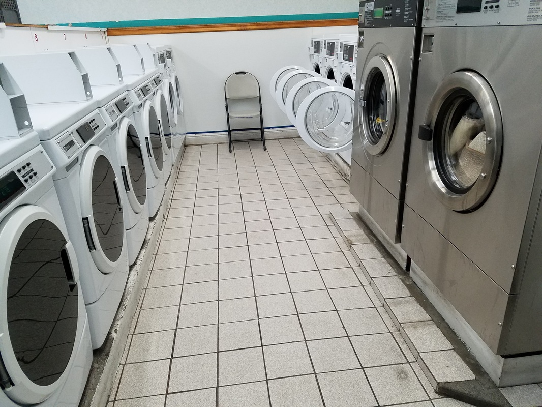 True Luxury: A Marina Laundromat