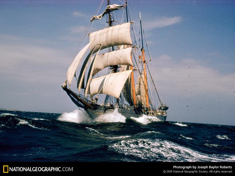 National Geographic Sailing Ship